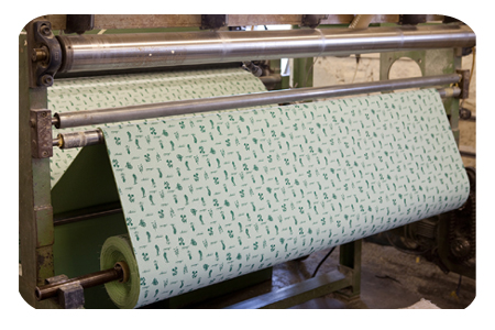 COMMISSION PERFORATING SERVICES OF FABRICS, FOAMS AND PVC'S IN ROLL FORM 1