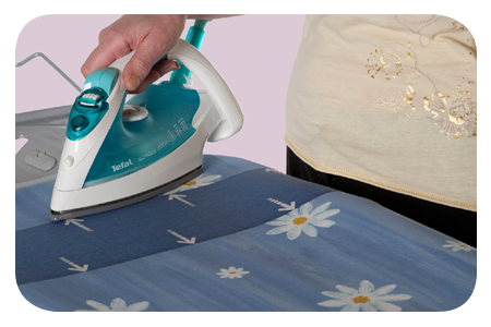 SILICONE COATED IRONING BOARD FABRICS FOR EASIER FRICTION-FREE IRONING